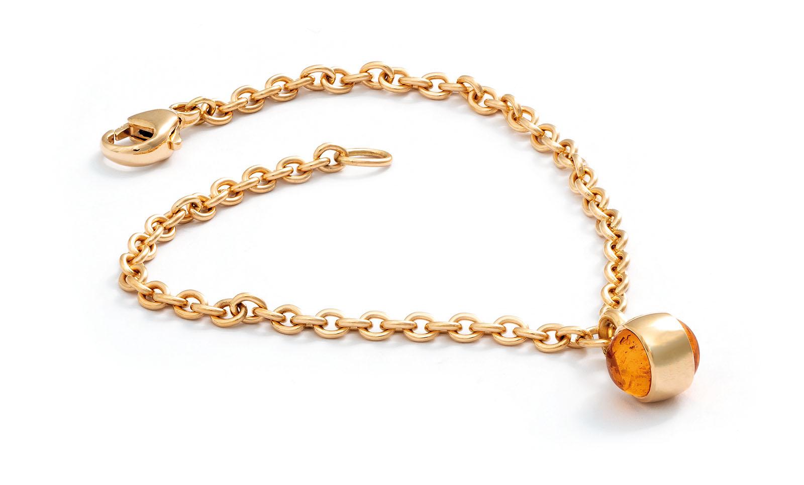 Mandaringranate, 750 Gelbgold