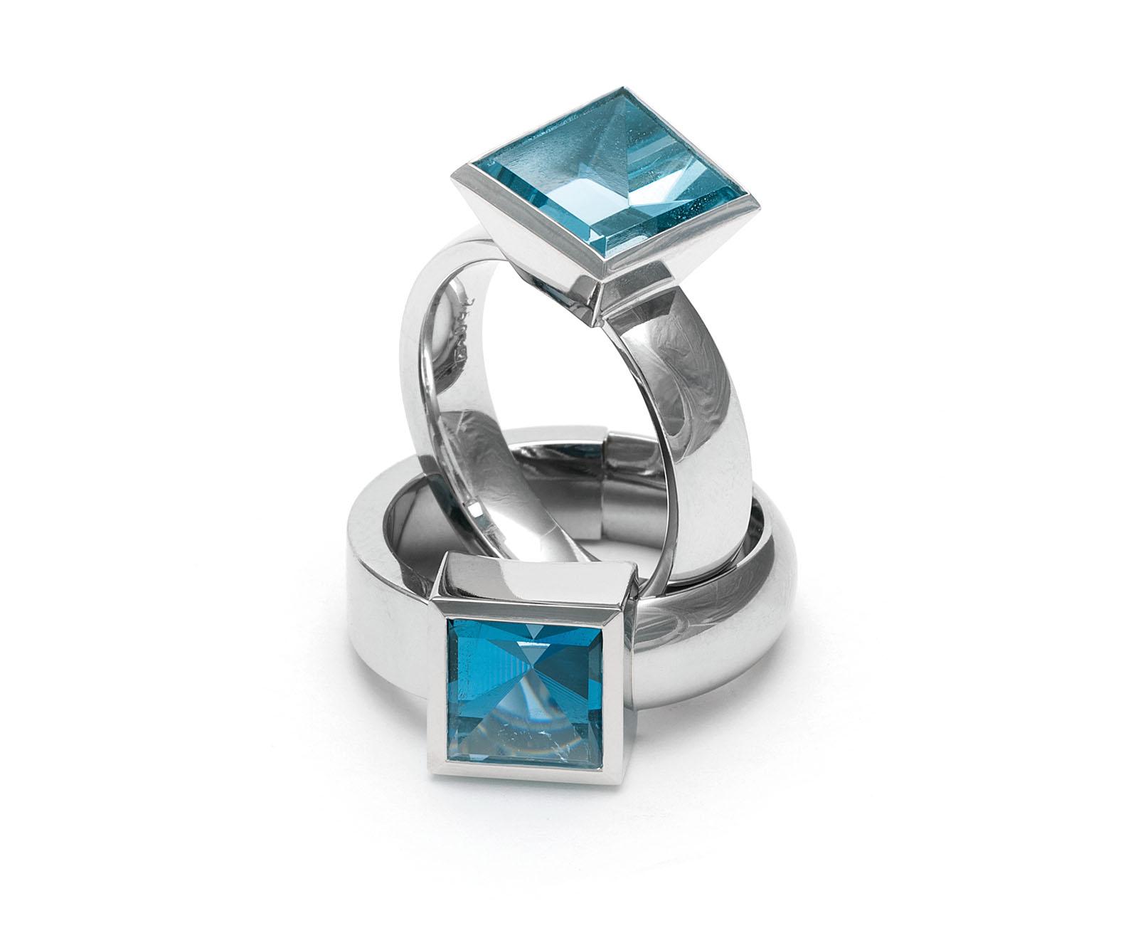 Aquamarine, Platin